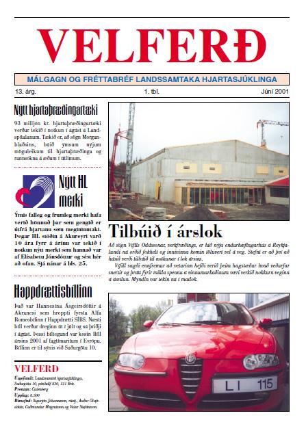 Velferð - Júní 2001