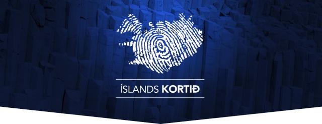Íslandskortið