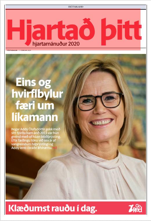 Hjartað þitt - GoRed 2020