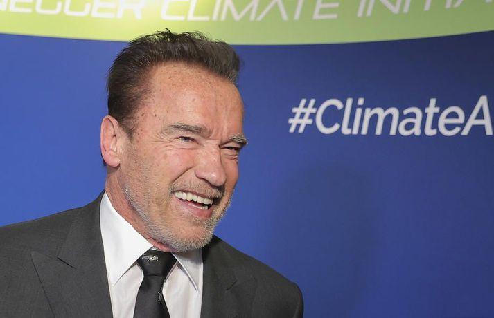 Schwarzenegger segist brattur eftir hjartaaðgerð