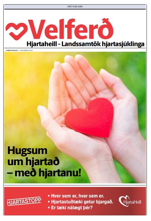 Í þessu fylgiblaði Fréttablaðsins er fjallað um málefni Hjartaheilla, landssamtaka hjartasjúklinga.
