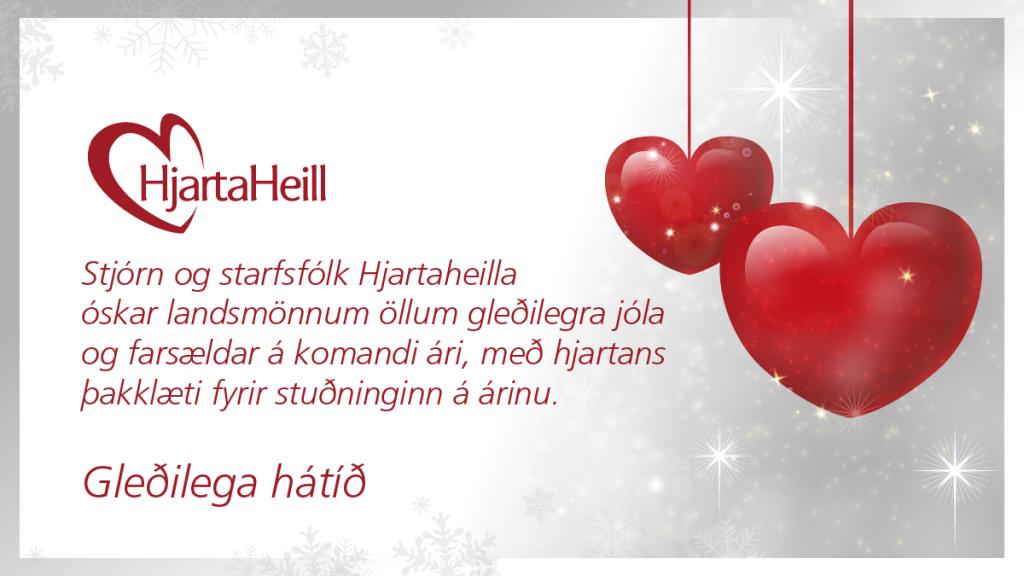Jólakveðja frá Hjartaheill